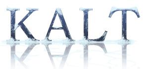 Schrift mit Eis und Schnee (Photoshop)