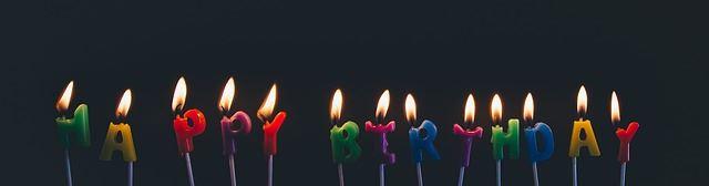 Geburtstagskerzen derpfaff.de feiert seinen Geburtstag