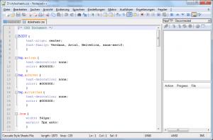 Screenshot Notepad++