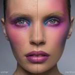 Hautunreinheiten mit Photoshop entfernt
